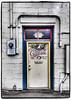 Changes in Latitude (NoJuan) Tags: edmondswa washingtonstate pacificnorthwest microfourthirds micro43 m43 olympuspenf 714mmpanasonic panasoniclumixgvario714mmf40asph artfilter olympusartfilter door doorway