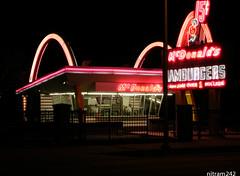 The Original McDonalds (nitram242) Tags: closed mcdonalds original neon sign lee demolition museum desplaines