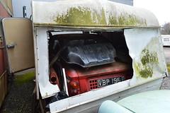 A Hillman Imp (PD3.) Tags: england uk bus buses psv pcv flexford north baddersley chandlers ford hampshire hants classic preserved hillman imp car caravan