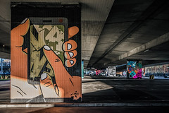 Landoscreen (Melissa Maples) Tags: münchen munich deutschland germany europe nikon d3300 ニコン 尼康 sigma hsm 1020mm f456 1020mmf456 winter graffiti streetart art streetartgallery donnersbergerbrücke lando