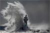 Big Bang (Sandra OTR) Tags: germany rügen sassnitz leuchtturm lighthouse storm waves sturm wellen hohe winter natur naturgewalt nature wondersofnature