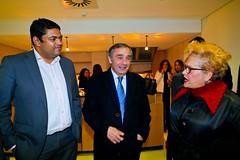 José Silvano na tomada de posse dos novos órgãos do PSD Oeiras