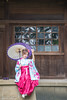 DSC_8963 (Robin Huang 35) Tags: 陳思綺 pocky 桃園神社 神社 和服 二尺袖 卒業服 袴 人像 portrait lady girl nikon d810