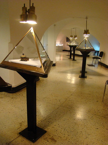 Подвалы Музея янтаря