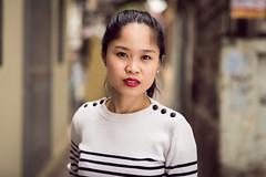Street portrait - Chau (ArnabKGhosal) Tags: hanoi vietnam model streetportraits londonphotographer portrait primelens nikon shootingthestreets beautifulgirl