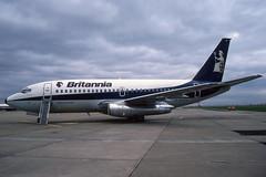 Britannia Airways - Boeing 737-219 G-BJXJ (Shaun Grist) Tags: by britannia boeing 737 airport aircraft aviation aeroplanes airline avgeek classic