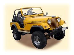 JEEP CJ-5 (1944-1986) (fernanchel) Tags: vehiculo car todoterreno jeep cj5 clasico classic gimp coche