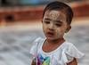 i segni della tradizione (mat56.) Tags: ritratto ritratti portrait portraits bambina bimba child babygirl trucco makeup myanmar burma birmania asia espressione expression persone people antonio romei mat56 segni signs