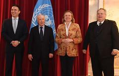 Griechenland und Mazedonien verhandeln in Wien