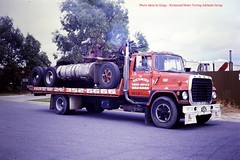 9 (kingsley foreman) Tags: trucking accident rollover wrecks semi trailer tractor longest driver truckers lorry haulage weapons lorries breakdown wagon highway freeway crash tow truck big rig smash motorway wrecker scania mack kenworth juggernaut transport freight freightliner peterbilt roadhouse stop extreme driving fire engine road train police ambulance ice show