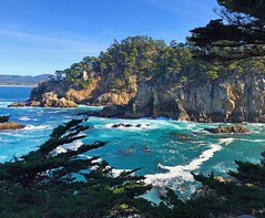 Point Lobos (Seymour Lu) Tags: water cliffs ocean waves travel photography iphone iphone7 aqua california