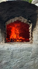 traditional oven in Kalymnos island Greece (M Lamprinos) Tags: greece kalymnos aegean oven traditional fire burning cooking ελλάδα dodecanese