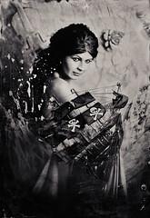 Calypso WPC13 (www.s999.co.uk) Tags: anna bulka jakubpyrdek studio999 studio999portrait s999 sanches90s studios999 wwws999couk wet plate collodion old photography portrait glass silver women pirate