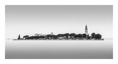 San Lazzaro degli armeni (Nick green2012) Tags: blackandwhite longexposure 21 venice island silence lagoon