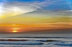 Impression, Soleil Couchant (Ciceruacchio) Tags: impression impressione sunset tramonto coucherdesoleil sun monet ocean oceano sea mer mare atlanticcoast côteatlantique costaatlantica aquitaine aquitania france francia frankreich nikond750 sky ciel cielo