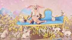 Somebunneh Loves You.... (Duchess Flux) Tags: fameshed blush skinfair stpatricksdayhunt palegirlproductions kustom9 theliaisoncollaborative cynful olive aii wow laq skinnery shinystuffs swallow glutz narcisse foxcity boudoir anc easter spring secondlife sl