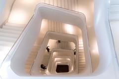 Down the drain (michael_hamburg69) Tags: madrid spanien spain españa espagne caixaforum stairs treppe treppenhaus staircase architekt architect herzogdemeuron auditorium museum