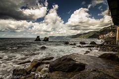cielo e mare ! (paolotrapella) Tags: sky clouds mare sea waterscape acqua italia roccie rocks nwn greatphotographers