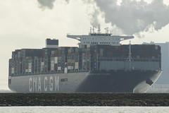 CMA CGM Antoine de Saint-Exupéry - HvH (Jan de Neijs Photography) Tags: cmacgmantoinedesaintexupéry ship containerschip containership cmacgm antoinedesaintexupéry containerreus vessel megaschip zuidholland holland nederland thenetherlands dieniederlande southholland tamron150600g2 tamron tamron150600 150600 g2 cargo antoinedesaintexupery cmacgmantoinedesaintexupery schiff containerschiff maasvlakte rotterdam hvh