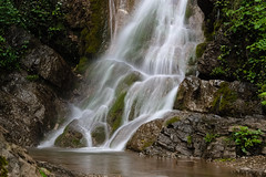 Spring shower (Marco MCMLXXVI) Tags: valmadrera lecco italy san tomaso forest stream water fall cascata torrente landscape nature scenery outdoor natura hiking escursionismo pentax kx rawtherapee rocks lichen spring waterfall mountain