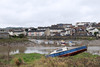 Picturesque Pill (sgreen757) Tags: picturesque pill river avon bristol shire shirehampton low tide boat stranded grounded beached blue fuji fujifilm x30 houses