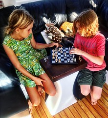 Ten-year-olds chess tournament. (miaow) Tags: bellalunaboat abcmyphoto exploring australia pittwater liveaboard autumn2018 nsw