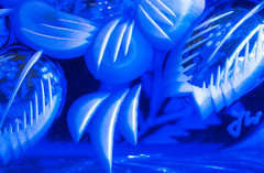 MM - The Blues (Julian Chilvers) Tags: glass theblues macro macromondays collectable