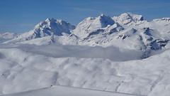 Laax (Daphne-8) Tags: snow schnee mountains bergen sneeuw neve nieve neige zwitserland schweiz switzerland suisse laax ski winter hiver inverno invierno montagnes montanhas montañas svizzera svizra graubünden grisons