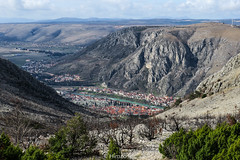 Mostar, Bosnia and Herzegovina (HimzoIsić) Tags: landscape outdoor hill conifer ngc