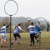 Quidditch (kimbenson45) Tags: britishquidditchcup2018 harrypotter jkrowling liverpoolquidditchclub liverpuddlycannons sheffieldquidditchclub sheffieldsteelfins action black blue colorful colors colourful colours competition competitor motion movement quidditch rings sport white yellow