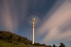 Rotazioni notturne magiche (Mancini photography) Tags: exposition night windturbine sky rotation clouds