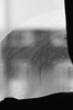 img291 (Adam Clark Photography) Tags: portrait blackandwhite black white ilford film analog camera rain sea droplets window snow light natural face girl woman canon sigma 35mm 85mm 14