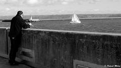 Fishing and sailing (patrick_milan) Tags: fishing urban sailing pier harbourg port fisher