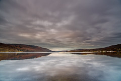 And the clouds roll in. (malcbawn) Tags: morning landscape lakedistrict coniston cumbria canonuk longexposure malcbawn uk clouds