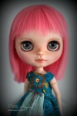 Pink Swan (Petite Apple) Tags: blythe doll customblythe simplyguava petiteapple
