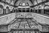 Water Missing (Leipzig_trifft_Wien) Tags: de architecture germany old lost places swimming pool indoor monochrome black white contrast wideangle