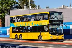 Sydney Buses - B-Line Northern Beaches  - Fleet Number ST 2880 - Wynyard Bound at Spit Junction. (john cowper) Tags: sydneybuses bline volvo spitjunction carringtonstreet wynyard doubledecker northernbeaches northernbeachesbline cromerheights monavale st2545 st2880 st2857 sydney newsouthwales