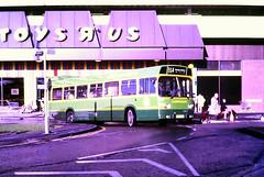 Slide 116-51 (Steve Guess) Tags: woking surrey england gb uk bus leyland national cawseyway alder valley