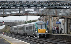 Irish Rail ICR 14 in Kildare Station. (Fred Dean Jnr) Tags: irishrail iarnrodeireann april2018 icr 22014 kildarestation kildare intercityrailcar rotem