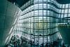 Waving Architecture (maida0922) Tags: a7iii variotessartfe1635mmf4zaoss japan tokyo roppongi national art center 新国立美術館 modern architecture building atrium glass sunshine people cafe urban