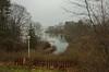 Depot Brook (Bud in Wells, Maine) Tags: maine spring wells fence harborroad rain estuary webhannetriver