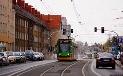 Siemens Combino #501 (dorian.kowalski) Tags: siemens combino 501 tramwaj tramway tram strassenbahn bimba mpkpoznań poznań kamienice dąbrowskiego transport publictransport linia17 linie17 starołęka piasek polna