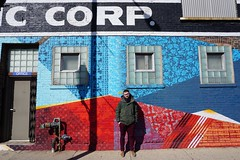 Corp. (drew*in*chicago) Tags: street art artist chicago 2018 neon paint painter tag mural graffiti