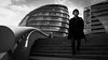 Sounds of London (parenthesedemparenthese@yahoo.com) Tags: dem 2018 bn bw london londoncityhall londres man monochrome nb noiretblanc normanfoster uk blackandwhite bnw byn canon600d cielnuageux cloudysky ef24mmf28 escalier handrails homme maincourante march mars stairway streetphotographie streetphotography