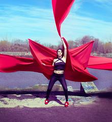Red red red (CarinaMcKee) Tags: carinamckeephotography carinamckee nikon nikkor philadelphia portrait red glamour