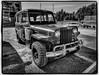 Willys Wagon (NoJuan) Tags: silverefexpro bw blackwhite blackandwhite monochrome olympuspenf 714mmpanasonic panasoniclumixgvario714mmf40asph microfourthirds micro43 m43 stationwagon willys 4wd