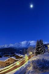Moon & Mont-Blanc IMG_9410 (Ludo_M) Tags: moon dusk alps montblanc hautesavoie snow winter travel trip journey longexposure wideangle sky lighttrails bluehour ef1635mmf4lisusm cordon canon eos 7d canoneos7d