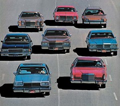 1977 New Models. The line-up of candidates for the 1977 Motor Trend Car of the Year (biglinc71) Tags: the lineup candidates for 1977 motor trend car year