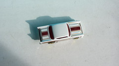 Hot Wheels HOLIDAY RACERS '57 Chevy 2017 : Diorama The Bonneville Salt Flats - 10 Of 14 (Kelvin64) Tags: hot wheels holiday racers 57 chevy 2017 diorama the bonneville salt flats