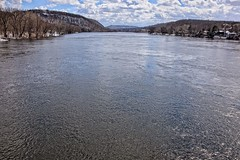 Lots of Water (brev99) Tags: d610 tamron28300xrdiif newhope newjersey ononesoftware on1photoraw2018 landscape delawareriver pennsylvania lambertville reflections river water colorefex